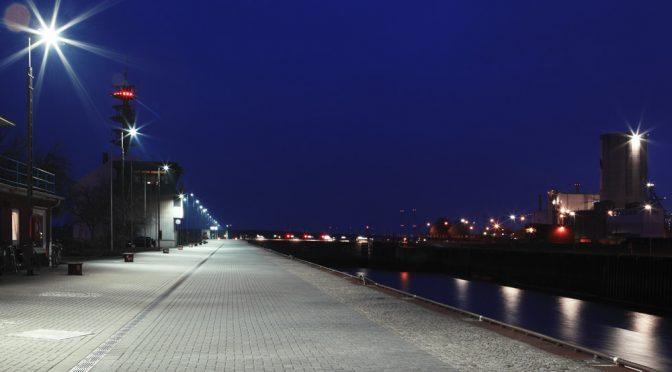 Bremen Ports LEP-Licht-Test