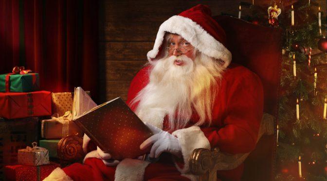 Tom Bola ist der Weihnachtsmann