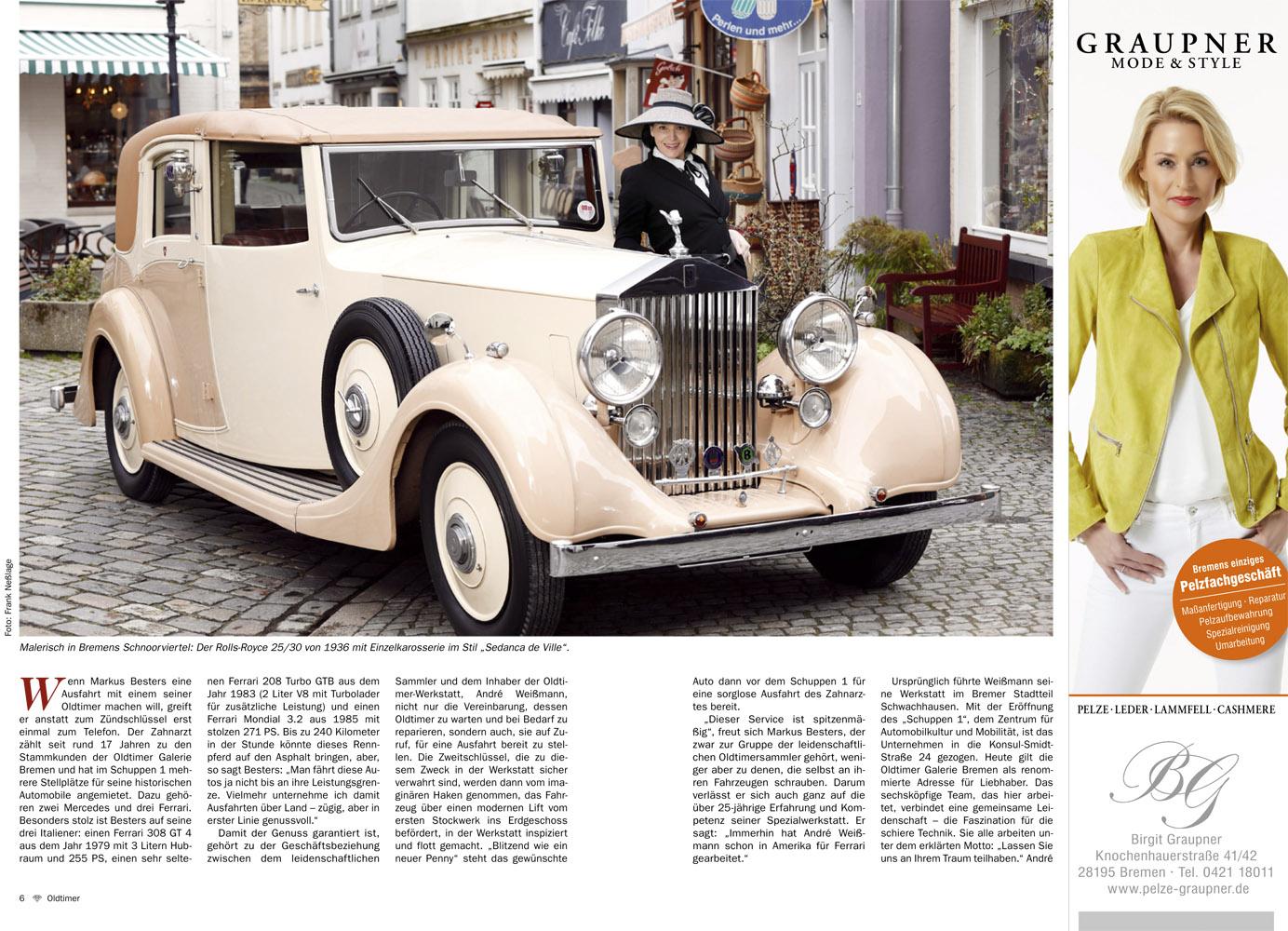 Sigrid Hirt vom Brillant Magazin